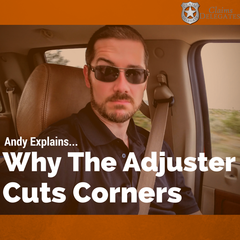 Adjusters Are NOT Responsible
